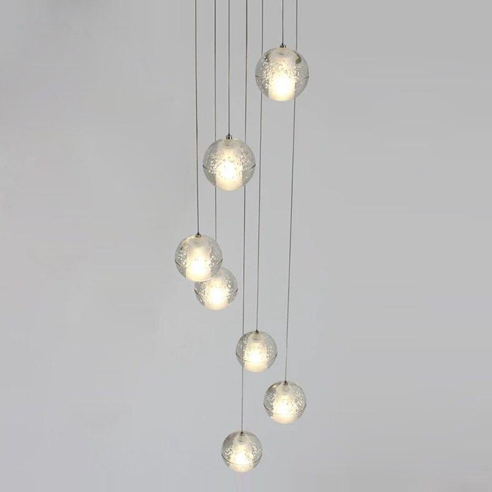 Image 5 - G4 moderno led pandant luzes múltiplas escadas luminárias moda  sala de estar quarto restaurante jantar cozinha iluminaçãopandant  lightlamp fixtureskitchen light