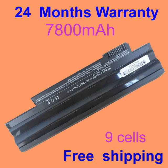 Batería del ordenador portátil para acer aspire one d255 jigu 360 (D260) 522 722 D255 D255E D257 happy2 feliz AOD257-N57DQbb D260 D270 E100
