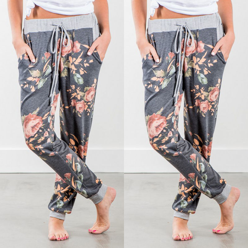 Flower Jogger Pants