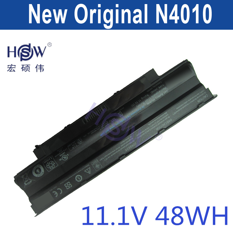 HSW new laptop battery for Dell FOR Inspiron 13R 14R 15R 17R M501 M5010 N3010 N4010 N5010 N5030 N7010 451-11510,J1KND new for dell inspiron 1464 1564 1764 n4010 fan