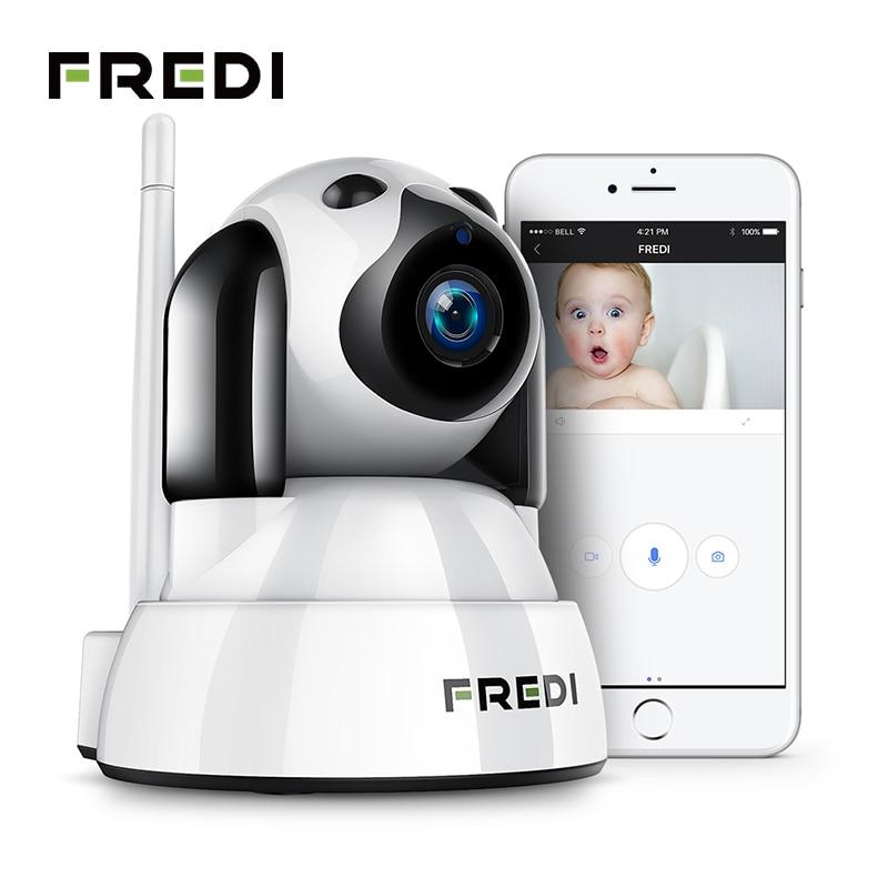 цена на FREDI Wireless IP Camera Baby Monitor 720P HD Security WiFi Camera Infrared Night Vision Home Network Surveillance CCTV Camera