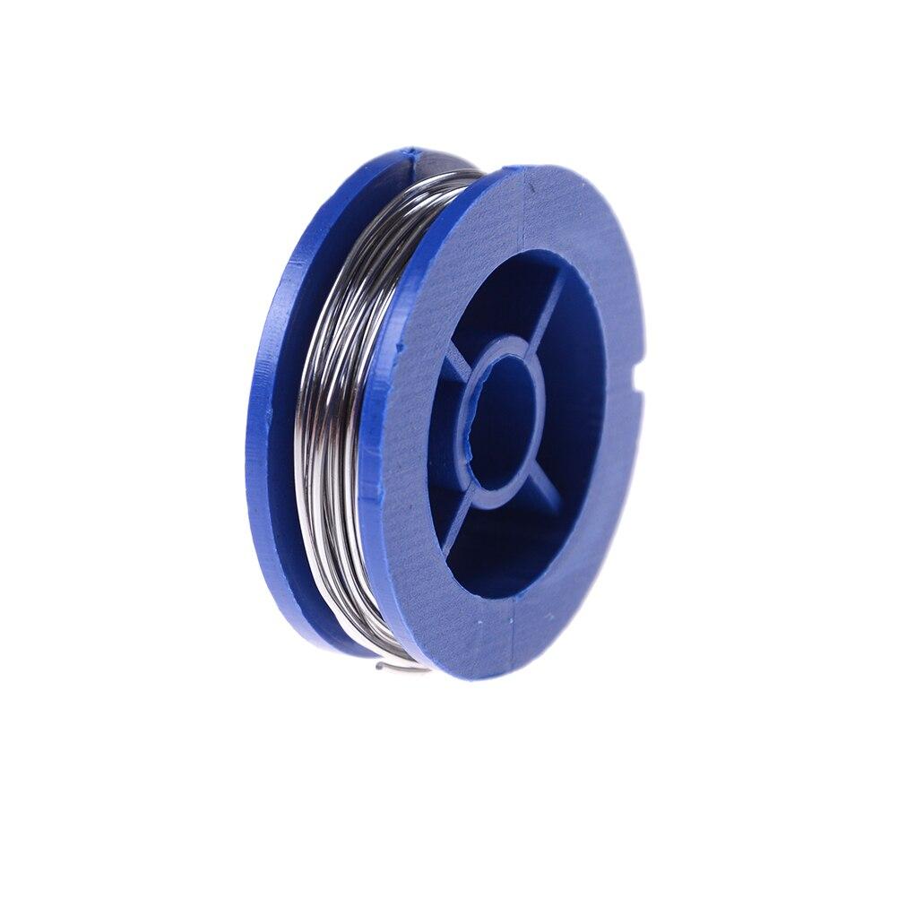 Rosin núcleo estanho chumbo 0.7mm 1.7m comprimento solda solda ferro fio carretel de solda