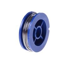 цена на Rosin Core Tin Lead  0.7mm 1.7m Length Solder Soldering Welding Iron Wire Reel Welding