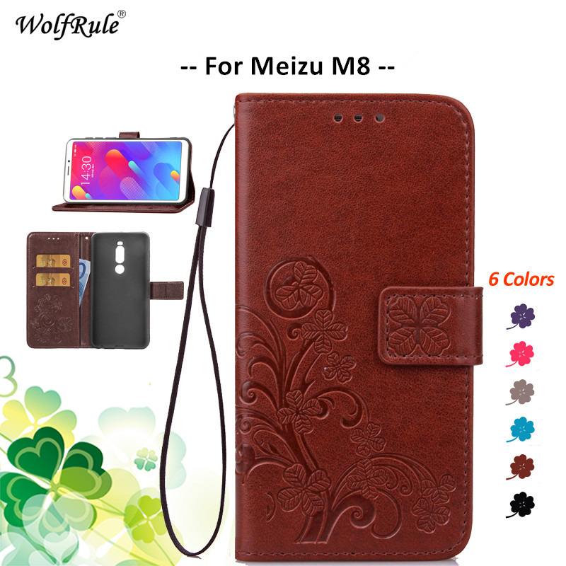 For Meizu M8 Case Meizu Note 9 Case Note 8 M8 Lite X8 Phone Bumper Flip PU Wallet Pouch Phone Bag Case For Meizu M8 Cover M813
