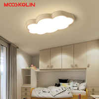 Luminaire Cloud Kids Room Lighting Children Ceiling Lamps Baby Ceiling Light With Yellow Blue Red White