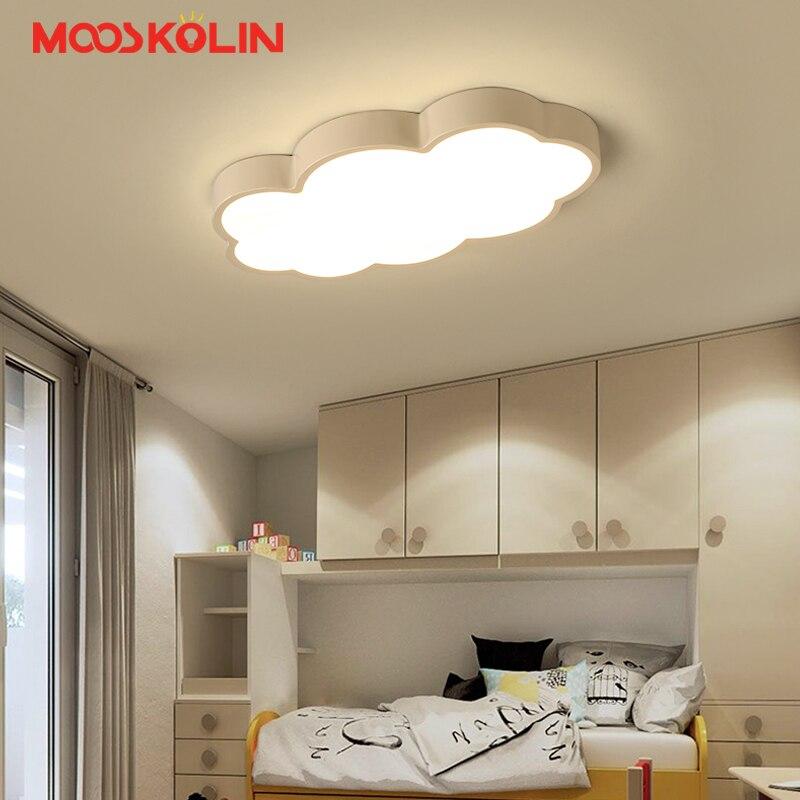 €59.62 40% de réduction|Luminaire nuage chambre enfant éclairage enfants  plafonniers bébé plafonnier avec jaune bleu rouge blanc fer Led  plafonnier-in ...