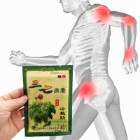 MIYUELENI 8Pcs/Bag Notoginseng Massage Essential oil Medical Pain Relief Patch Knee Back body Plaster Essential Oil