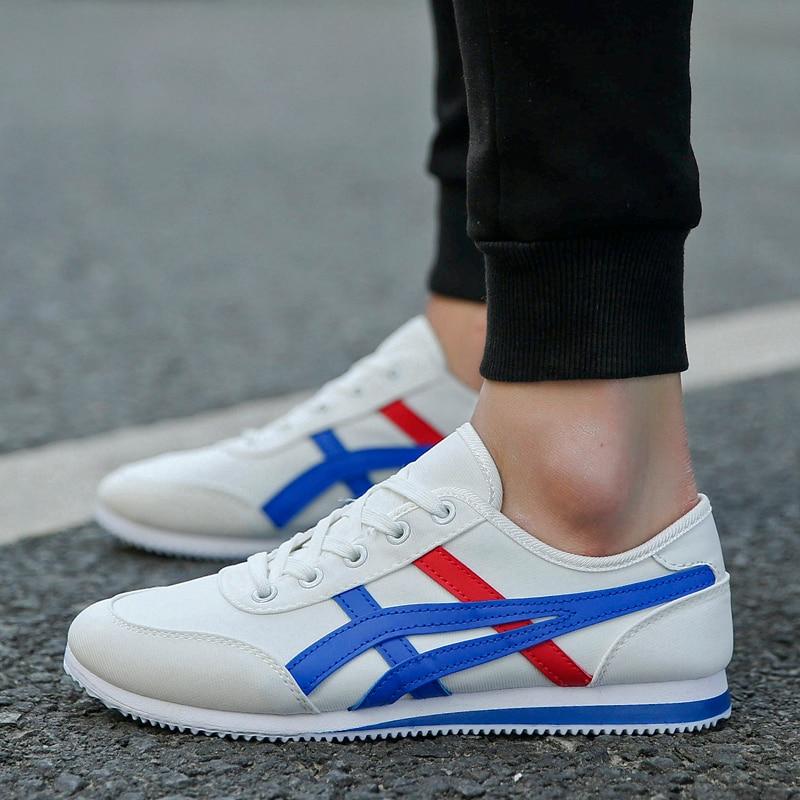 ZENVBNV 2018 New Sport Walking Sneakers for Men Lace Up Running Shose Spring Summer Man  ...