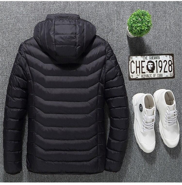 baixo algodão jaqueta de refrigeração inverno térmico