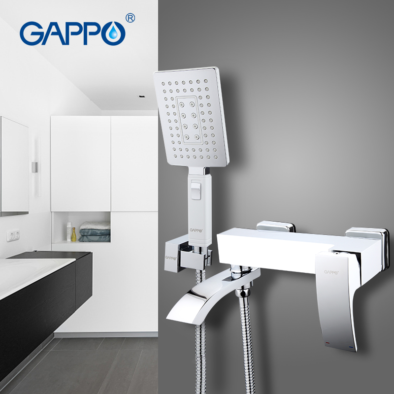 gappo 1set high quality bathroom bathtub shower faucet set 14053