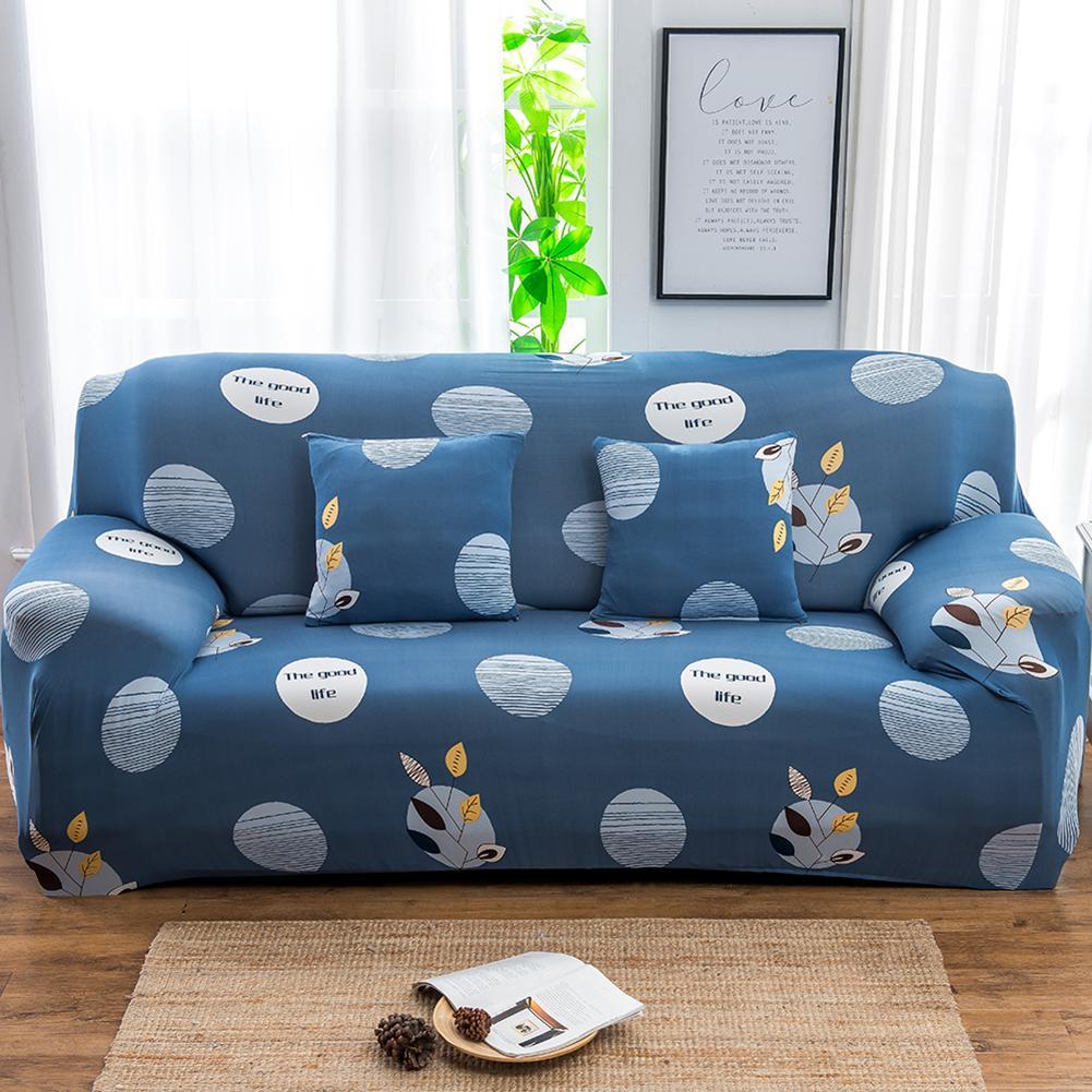 Liberaal Kat Flamingo Leaf Star Sofa Wrap Volledige Cover Elastische Couch Pollow Sofa Case Slipover Decor