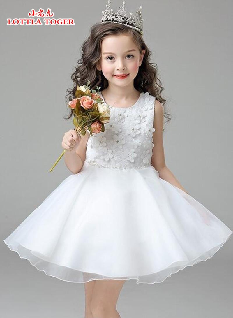 Flower Girl Dress Chiffon Children Summer Clothing Kids Dresses For