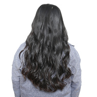 Brazilian Hair Weave Bundles Body Wave Remy Human Hair Extensions 10 28 Nature Color 1 Piece