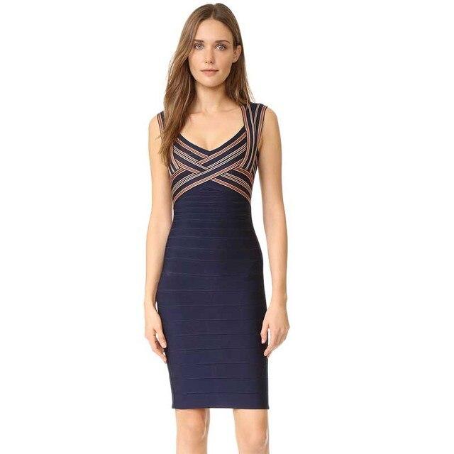 f0e2e4a206fa wholesale New Dress Black jacquard Stretch tight Fashion luxury Tighten the mini  Cocktail party Bandage dress (L1814)