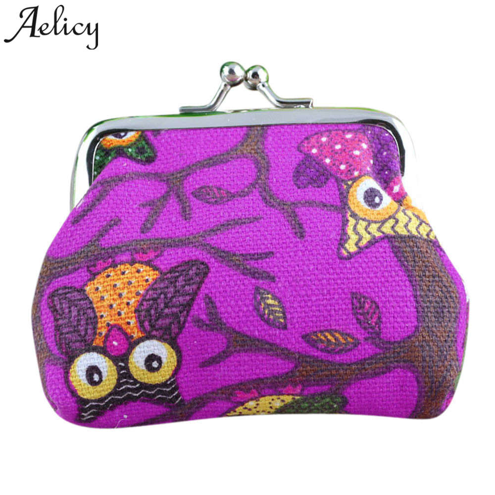 Aelicy wallet women Retro Vintage Small Hasp Coin Purse Famous Designer Brand Wallet Women Wallet Clutch Bag Mini Purses
