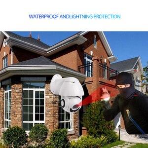 Image 2 - Wheezan ip camera outdoor POE speed dome PTZ Camera 1080p 360 Pan 4x Zoom Night vision Onvif imx323 cctv camaras vigilancia