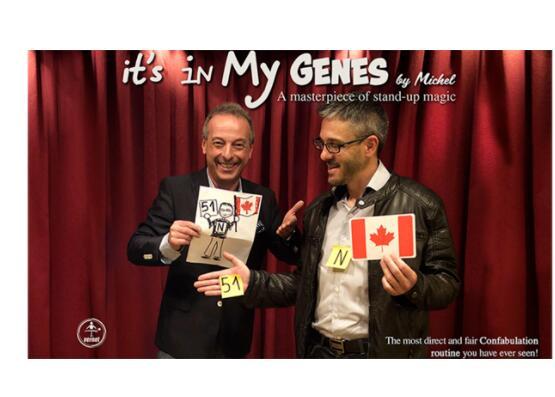 Honest Its In My Genes By Michel,magic Tricks Magic Tricks