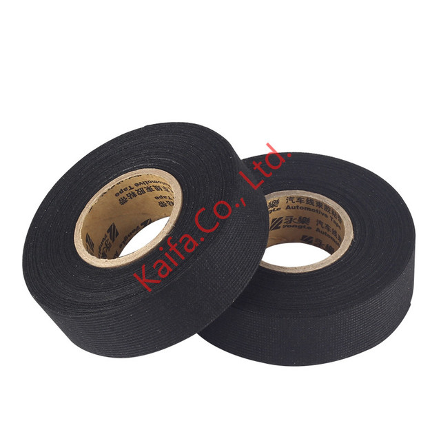 19mm 15 25mm 15 32mm 12 38 15m fabric cloth tape automotive wiring 19mm 15 25mm 15 32mm 12 38 15m fabric cloth tape automotive wiring harness glue high temperature tape adhesive tape cable looms in tape from home