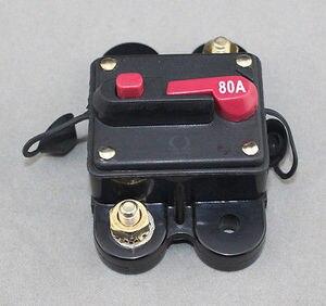 Image 3 - 50A 60A 80A 100A 150A 200A 250A 300A Auto Audio Inline Stroomonderbreker Zekering voor 12 V Bescherming SKCB 01 60A