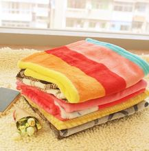 1pcs dogs cats fashion strip mat supplies doggy warm soft blankets products puppy autumn winter nest pets accessories