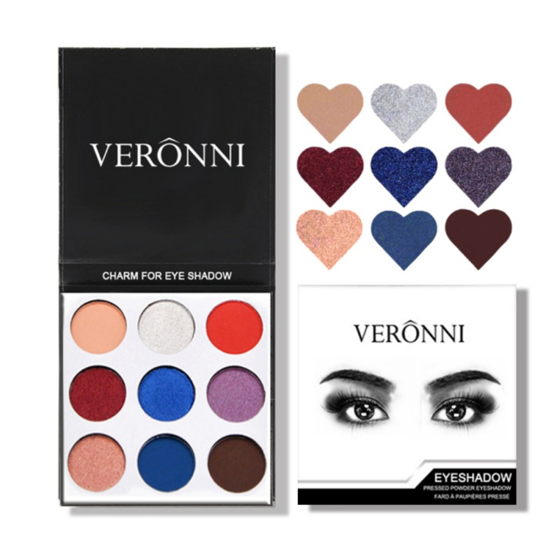 9Colors Eye Shadow Palette Natural Shimmer Matte Eyeshadow Powder Brand Professional Eyes Makeup Pallete Maquiagem 15