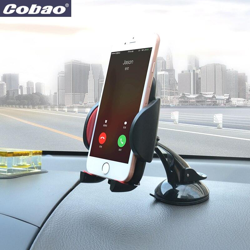 Cobao Universal 360 Grad Auto Handy Halter Halterung Ständer Für iPhone 6 6 S 7 Plus 5 5 S SE Für Huawei Xiaomi mi5 redmi hinweis 3
