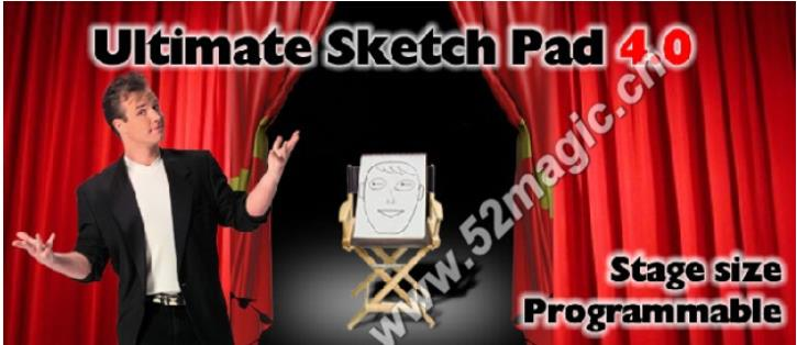 Ultimate Sketch Pad 4 0 Stage Size Programmable Drawing Pad Stage Close Up Illusions Gimmick Prop