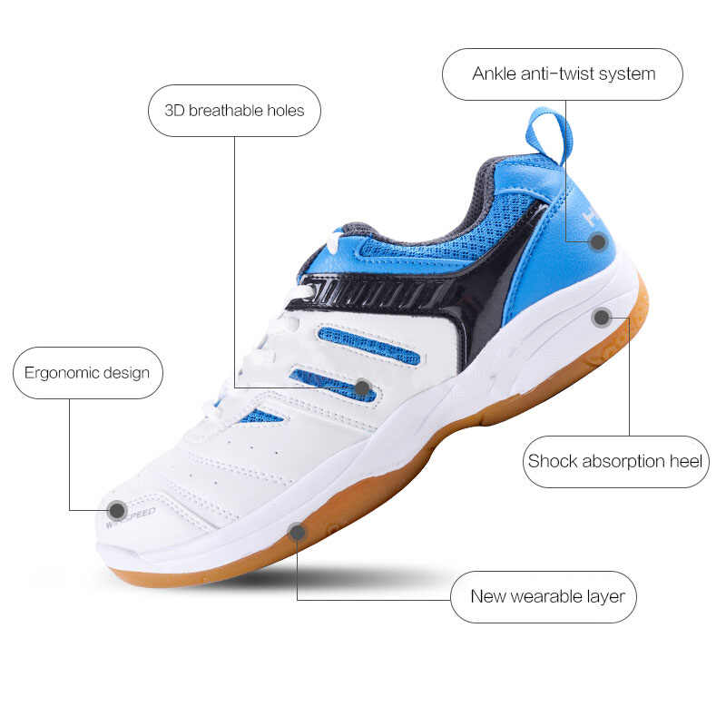Original HEAD Light Breathable Tennis Shoes For Men Sport Shoes Men's Training Athletic Shoes Anti-Slippery Tennis Sneakers