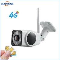 3G 4G Camera Sim Card 2MP 1080P HD Outdoor Wireless Wifi IP Camera Security Bullet Waterproof Surveillance CCTV Camera