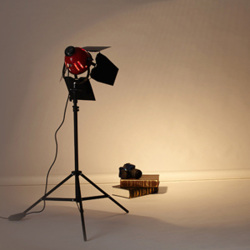 Selens Redhead Light with Brightness Dimmer 800w 220V For Filming Studio Continuous Lighting Studio Light with tripod