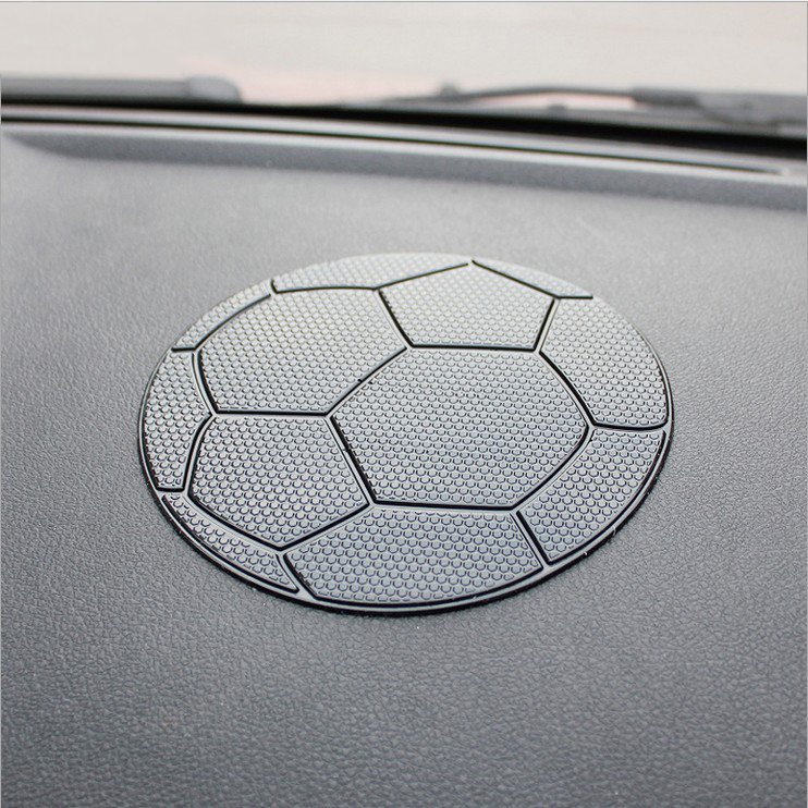 Car Styling Football Dashboard <font><b>Sticky</b></font> For <font><b>Pad</b></font> Anti-slip Mat GPS <font><b>Cell</b></font> <font><b>Phone</b></font> Key Holders Easy Cleaning High Temperature Resistant