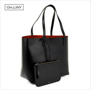CHJJNY tote women large leather shoulder bag designer e46da87cac96e
