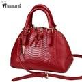 New arrival star style PU leather women handbag already set bag fashion women bag classic serpentine shoulder bag WLHB1276