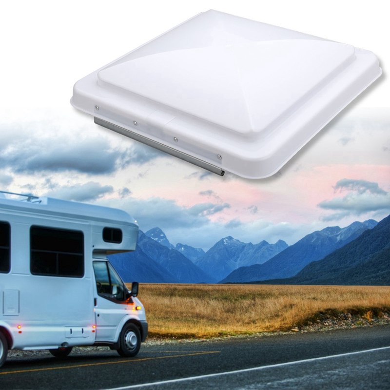 2 Packs Universal Rv Roof Vent Lid Cover Replacement 14 Inch White for Camper Trailer