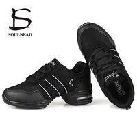 Танцевальная обувь для женщин, спортивные современные танцевальные джазовые туфли, мягкая подошва, дышащие танцевальные туфли, женские вал...
