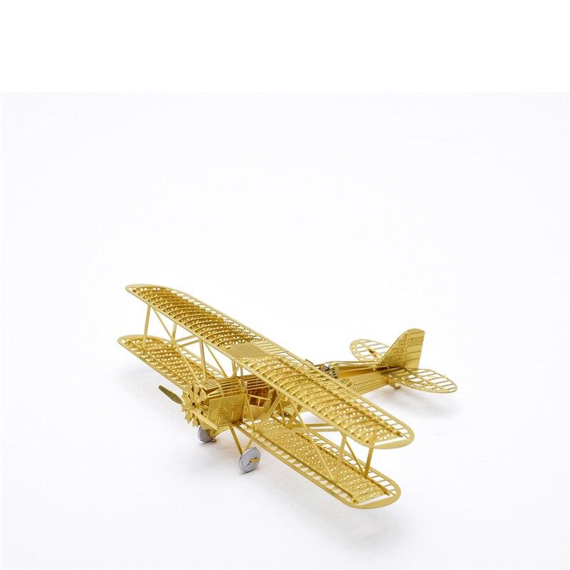 1/160 Boeing 40 Model bingkai pesawat DIY Tidak perlu menggunakan gam - Teka-teki - Foto 2
