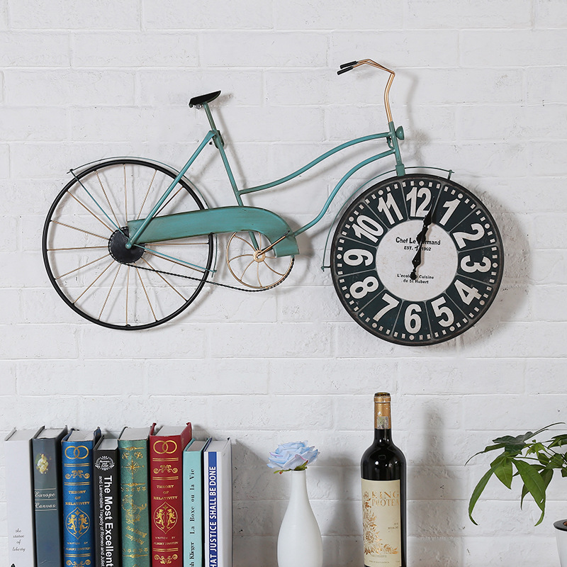 Saati, Clock, Bicycle, Watch, Wall, Home