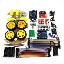 Multifonction Bluetooth Contrôlée Robot Intelligent Kits Auto Tonnes de Publié Livraison Codes UNO R3 MEGA328P Pour Arduino Robot Developme
