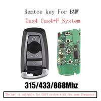 315/433/868Mhz Smart Remote Key Keyless Fob For BMW F CAS4 3 5 7 Series F01 F02 F03 F04 F11 F07 F10 F30 KR55WK49863 CAS4 System