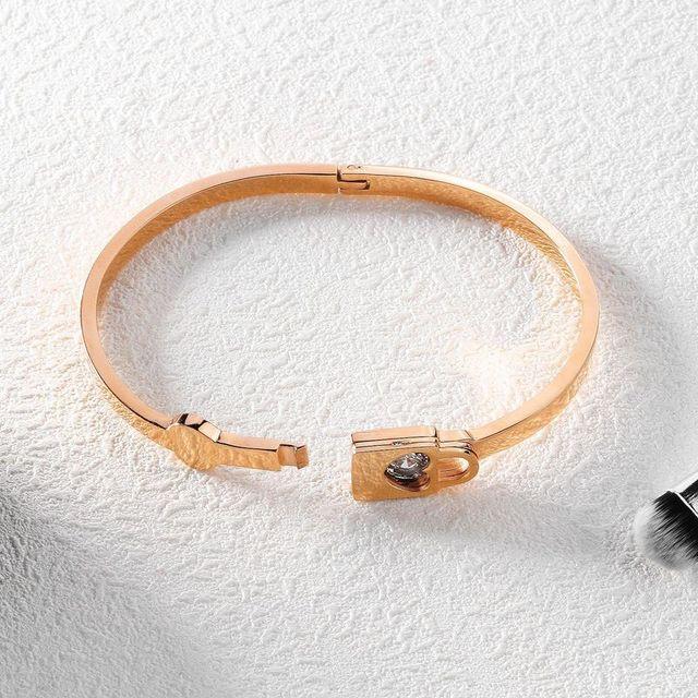 Браслет из титановой стали циркониевые браслеты подарки на день