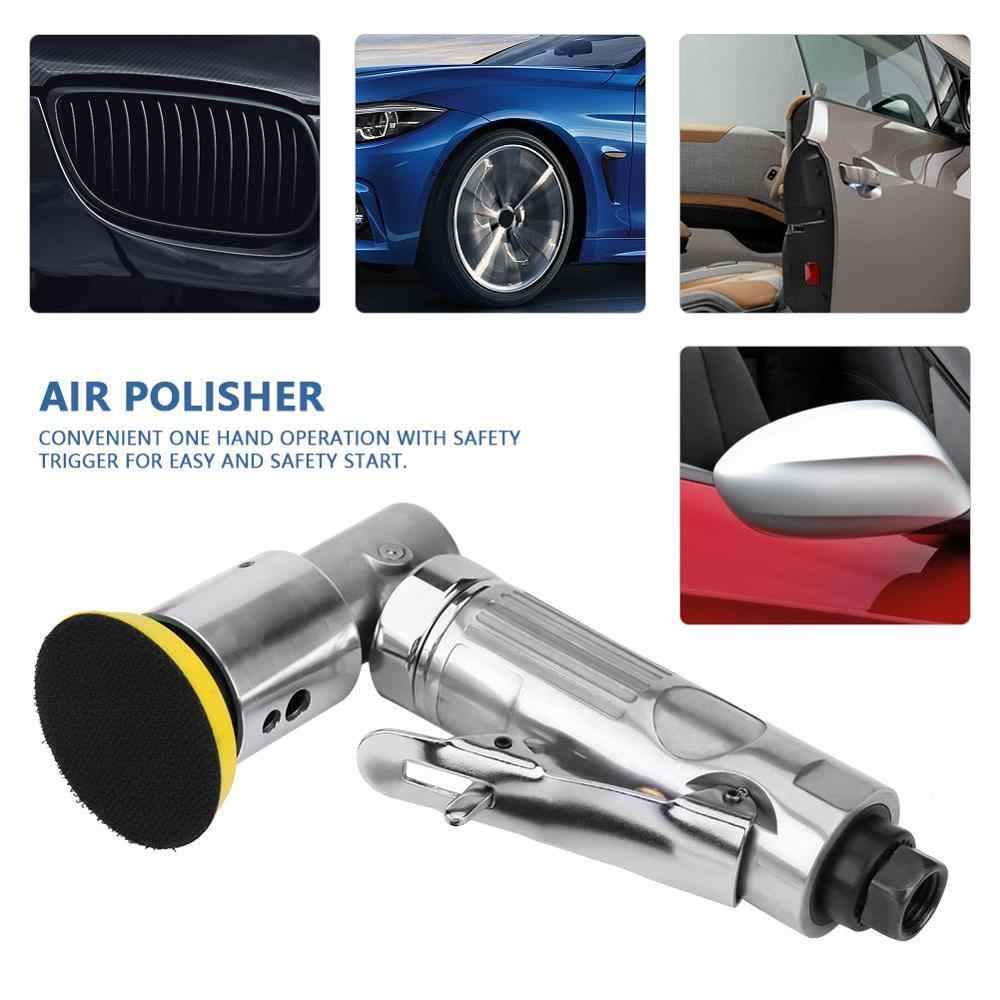 90 Degree Air Polisher Orbital Sander Eccentric Polishing Machine Pneumatic Grinding Sander Tool 15000 rpm