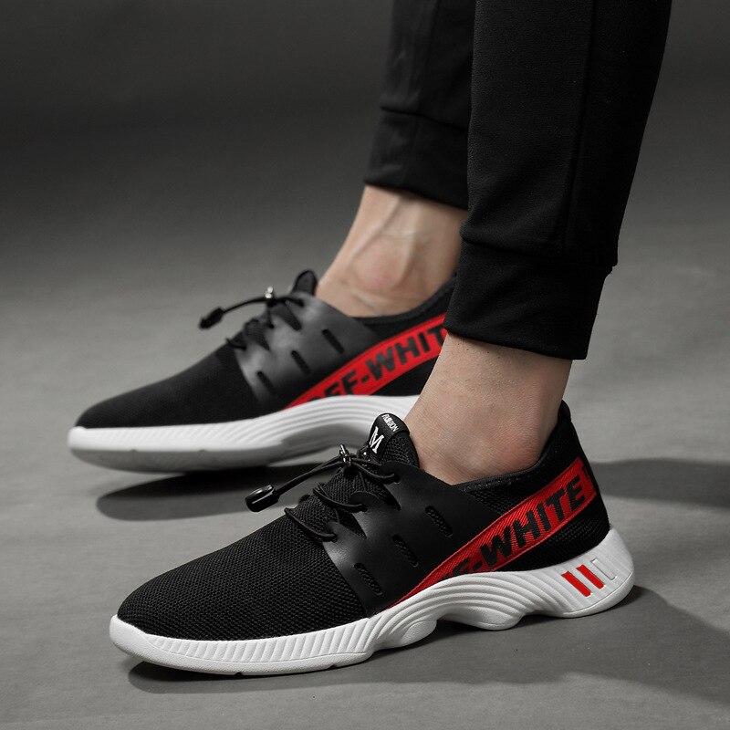 Verão Nova Macio White And Alta Amantes Homens Qualidade Baixos Sapatos Fundo Unisex Dos Black Respirável Malha Mens red Moda Casuais Da De OwRTHCqxHI