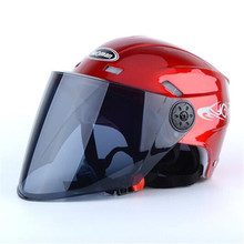 Motorcycle Helmet Open Face Moto Racing Motorcycle Vintage Helmets With Dual Lens motorbike Accessories