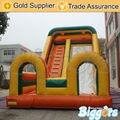 Inflatable biggors inflável gigante slide para o aluguer de