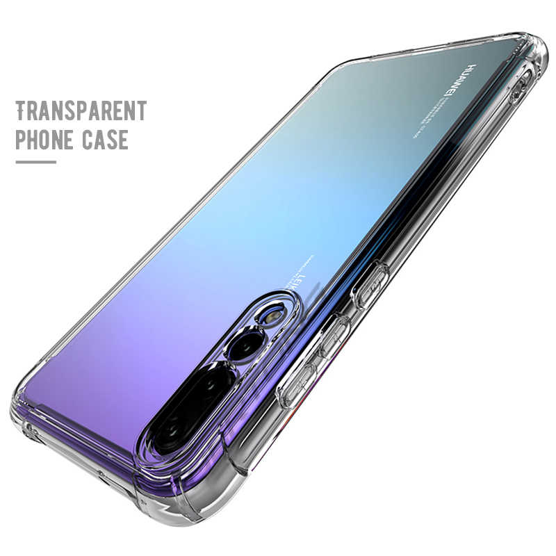 Soft TPU Cover Phone Case For Huawei Nova 3 3i P30 P20 Lite Mate 20X Mate 20 Lite Mate 10 Pro Anti-shock Clear Cases Bags