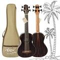 Aiersi marca 30 Polegada elétrica ukelele u baixo ukulele com saco de estofamento