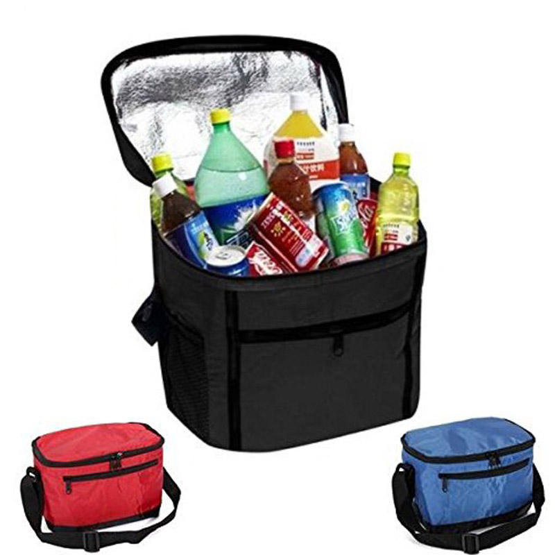 3 colors Portable Travel Camping Storage Lunch Kit Thermal Insulated Cooler Bag For Women Men Kids Large Bento Box