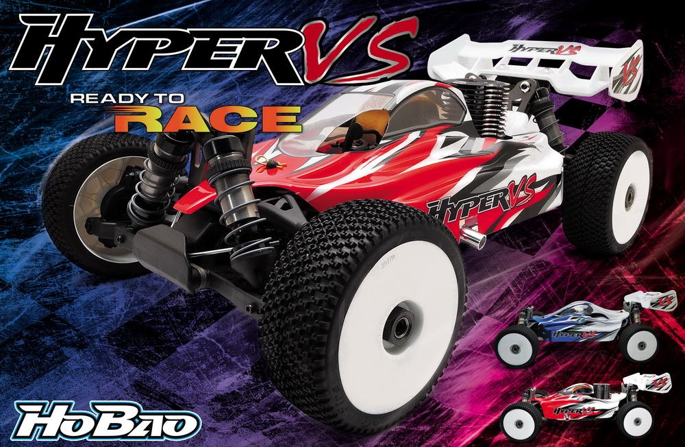 OFNA/HOBAO RC RACING The New 1/8 Hyper VS Buggy EP ARR (Ultra LX3e) 80% Assembled Competition level 1/8 Buggy ofna hobao racing 90047 shock piston 4pcs for 1 8 hyper vs buggy free shipping