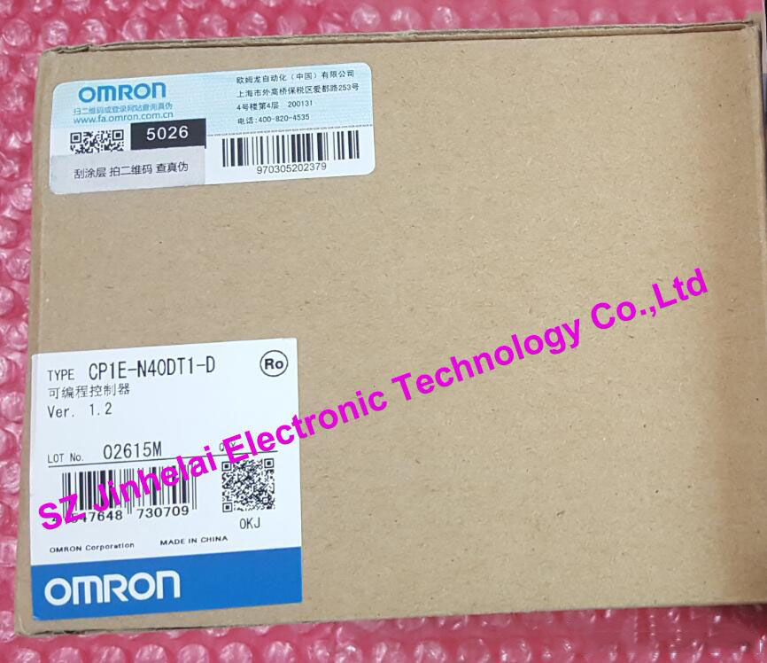 цена на CP1E-N40DT1-D Authentic original OMRON PLC CONTROLLER