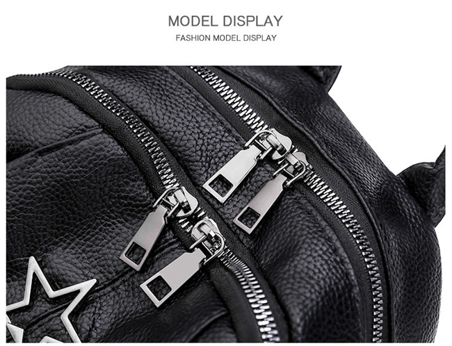 HTB154vjaQH0gK0jSZPiq6yvapXa9 Minimalism Female Backpack Pu Leather Youth Women Bagpack Beautiful Fashion Girl Casual Rucksacks Lady Shoulder Bag 2019 New